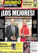 Portada Mundo Deportivo del 12 de Febrero de 2013