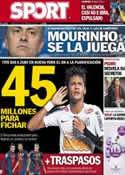 Portada diario Sport del 13 de Febrero de 2013