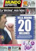 Portada Mundo Deportivo del 14 de Febrero de 2013