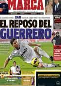 Portada diario Marca del 15 de Febrero de 2013