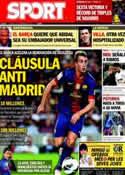 Portada diario Sport del 15 de Febrero de 2013