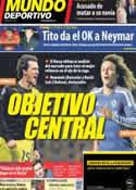 Portada Mundo Deportivo del 15 de Febrero de 2013