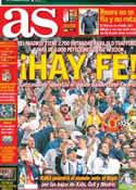 Portada diario AS del 16 de Febrero de 2013