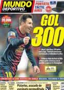 Portada Mundo Deportivo del 16 de Febrero de 2013