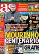 Portada diario AS del 17 de Febrero de 2013
