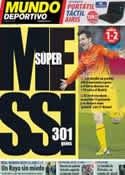Portada Mundo Deportivo del 17 de Febrero de 2013