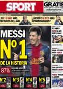 Portada diario Sport del 18 de Febrero de 2013