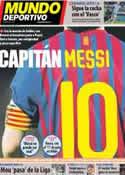 Portada Mundo Deportivo del 18 de Febrero de 2013
