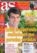 Portada diario AS del 19 de Febrero de 2013