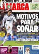 Portada diario Marca del 19 de Febrero de 2013