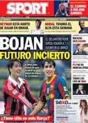 Portada diario Sport del 19 de Febrero de 2013