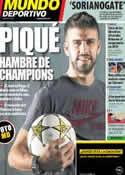 Portada Mundo Deportivo del 19 de Febrero de 2013