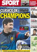 Portada diario Sport del 20 de Febrero de 2013