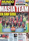 Portada Mundo Deportivo del 20 de Febrero de 2013
