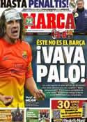 Portada diario Marca del 21 de Febrero de 2013