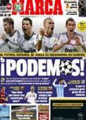 Portada diario Marca del 22 de Febrero de 2013
