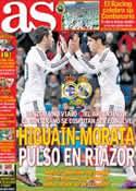 Portada diario AS del 23 de Febrero de 2013