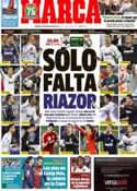 Portada diario Marca del 23 de Febrero de 2013
