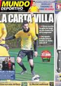 Portada Mundo Deportivo del 23 de Febrero de 2013