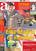 Portada diario AS del 25 de Febrero de 2013