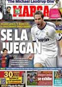 Portada diario Marca del 25 de Febrero de 2013