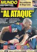 Portada Mundo Deportivo del 25 de Febrero de 2013