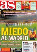 Portada diario AS del 26 de Febrero de 2013