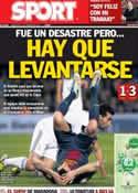 Portada diario Sport del 27 de Febrero de 2013