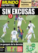 Portada Mundo Deportivo del 27 de Febrero de 2013
