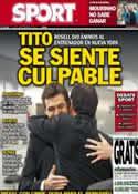 Portada diario Sport del 28 de Febrero de 2013