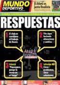 Portada Mundo Deportivo del 28 de Febrero de 2013
