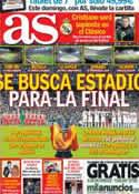 Portada diario AS del 1 de Marzo de 2013