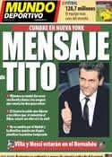 Portada Mundo Deportivo del 1 de Marzo de 2013