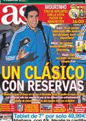 Portada diario AS del 2 de Marzo de 2013