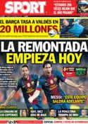Portada diario Sport del 2 de Marzo de 2013