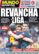 Portada Mundo Deportivo del 2 de Marzo de 2013