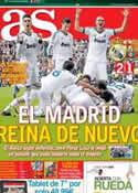 Portada diario AS del 3 de Marzo de 2013