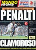 Portada Mundo Deportivo del 3 de Marzo de 2013