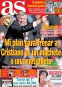 Portada diario AS del 4 de Marzo de 2013