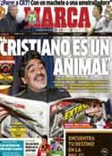 Portada diario Marca del 4 de Marzo de 2013