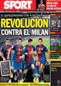 Portada diario Sport del 4 de Marzo de 2013