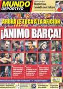 Portada Mundo Deportivo del 4 de Marzo de 2013