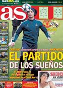 Portada diario AS del 5 de Marzo de 2013