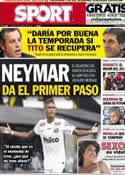 Portada diario Sport del 5 de Marzo de 2013
