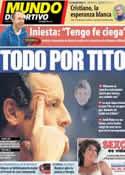 Portada Mundo Deportivo del 5 de Marzo de 2013