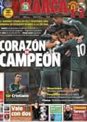 Portada diario Marca del 6 de Marzo de 2013