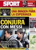 Portada diario Sport del 6 de Marzo de 2013