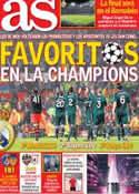 Portada diario AS del 7 de Marzo de 2013