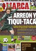 Portada diario Marca del 7 de Marzo de 2013