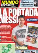 Portada Mundo Deportivo del 7 de Marzo de 2013